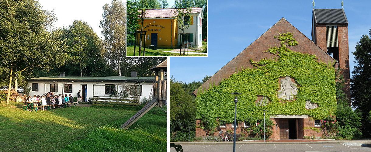 Christuskirche, Begegnungsstätte Breedland, Jugendtreff Pampelmuse